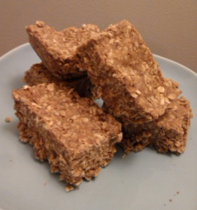 Easy Oatmeal Protein Bars. Sugar free, and gluten free